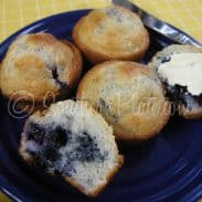 Blueberry Muffins – Made With Baking Mix!