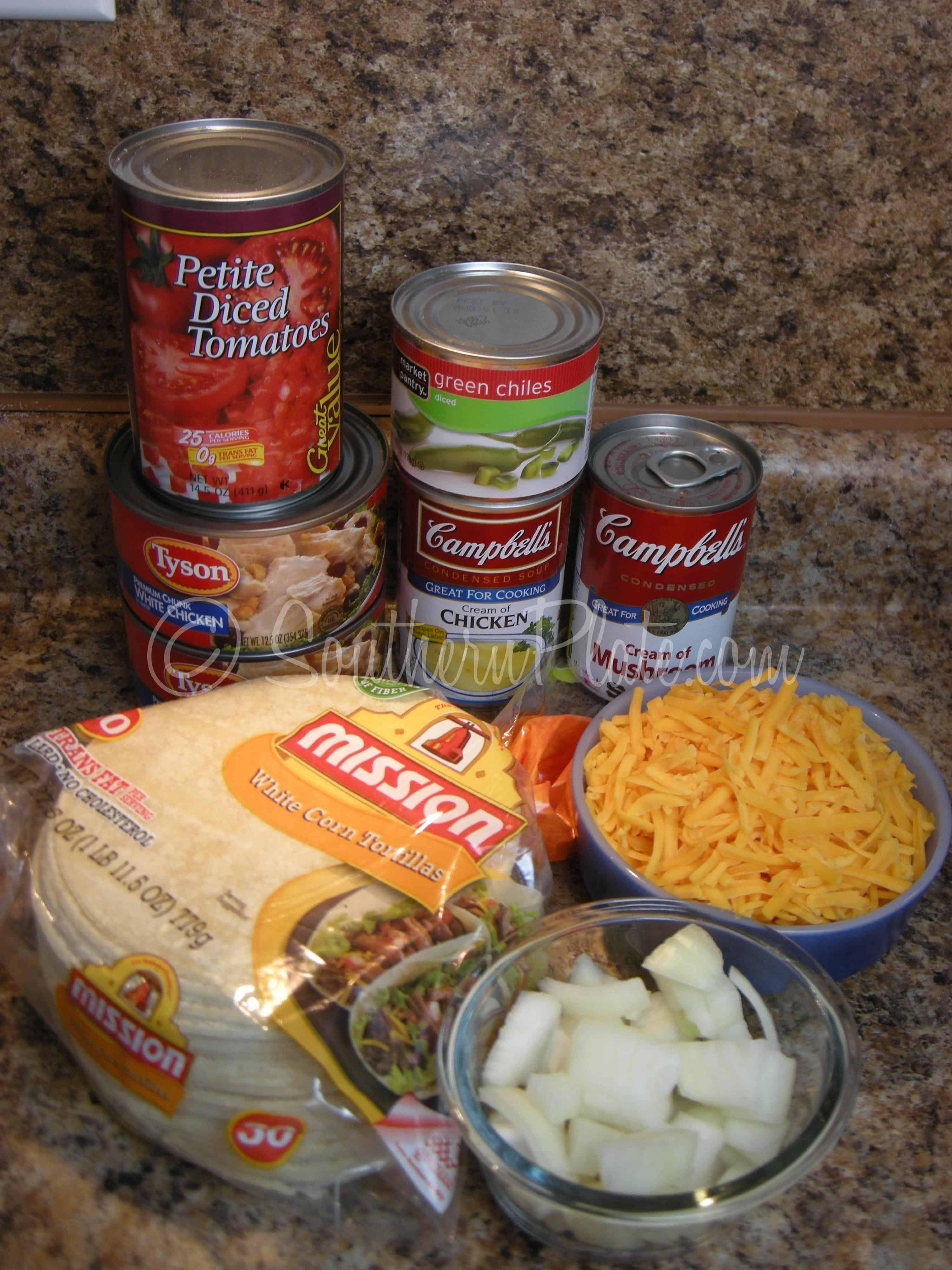 Easy chicken rotel casserole recipes