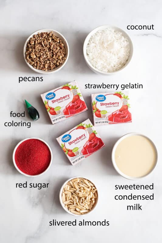 Strawberry Candy ingredients