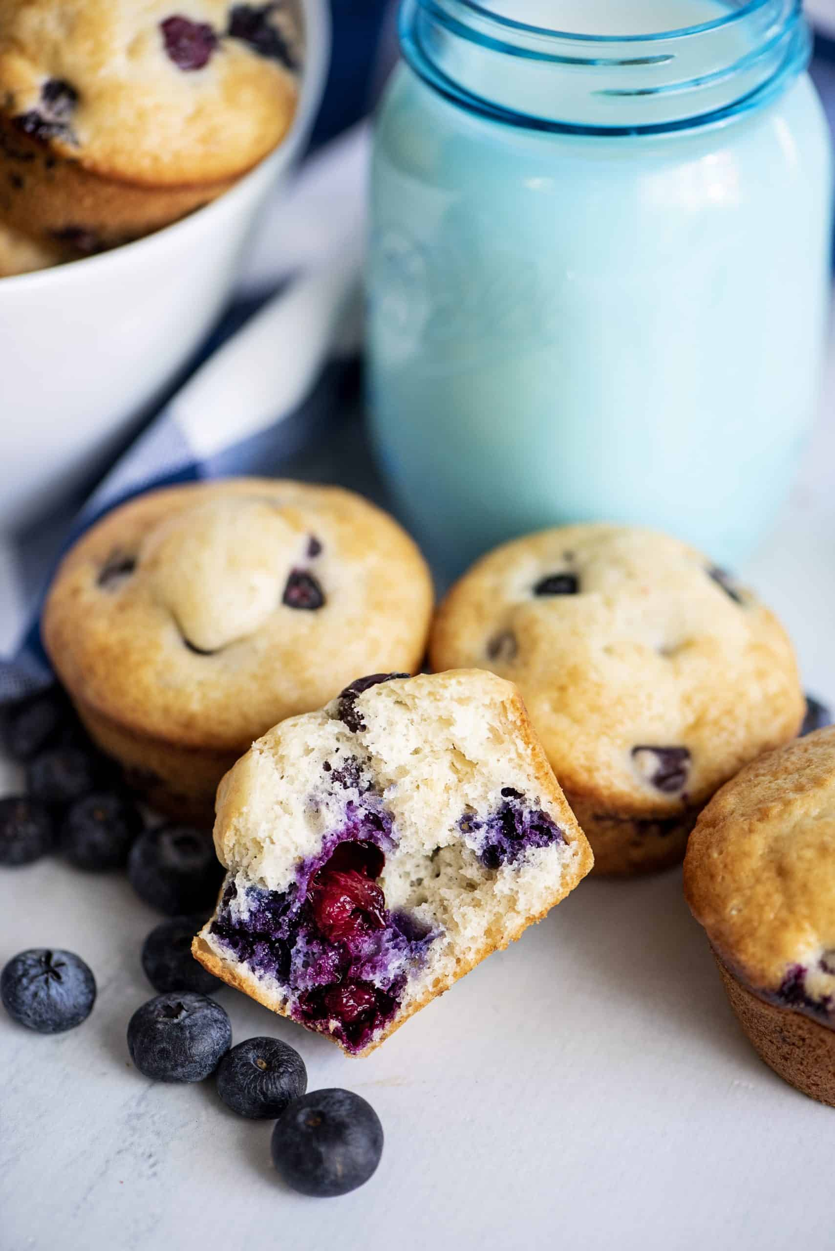blueberry muffin baking mix
