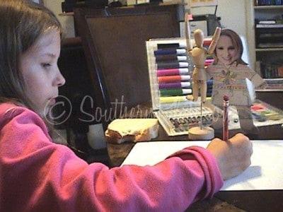 Vivian school work