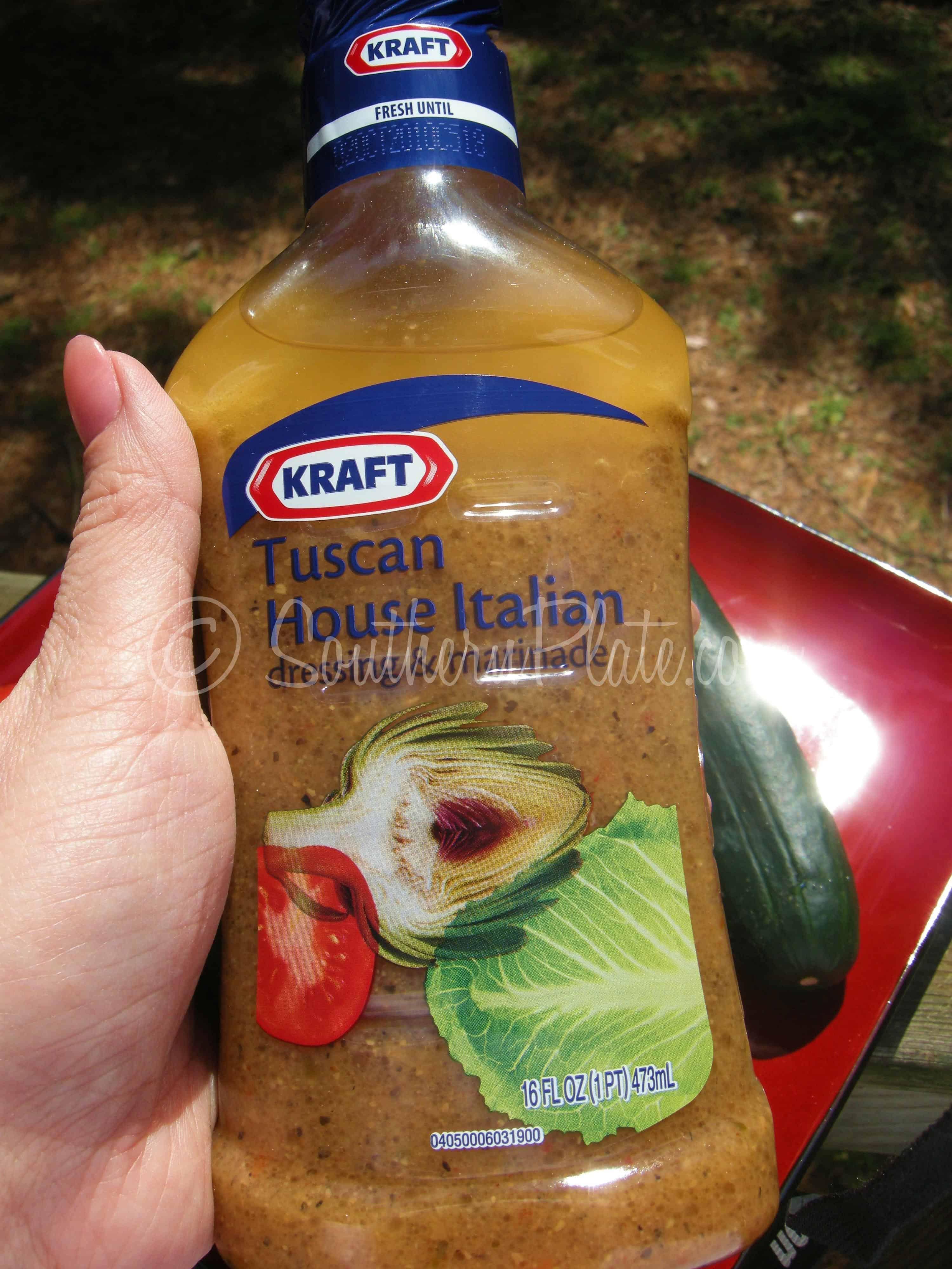 Fast Italian Cucumber Salad - Southern Plate