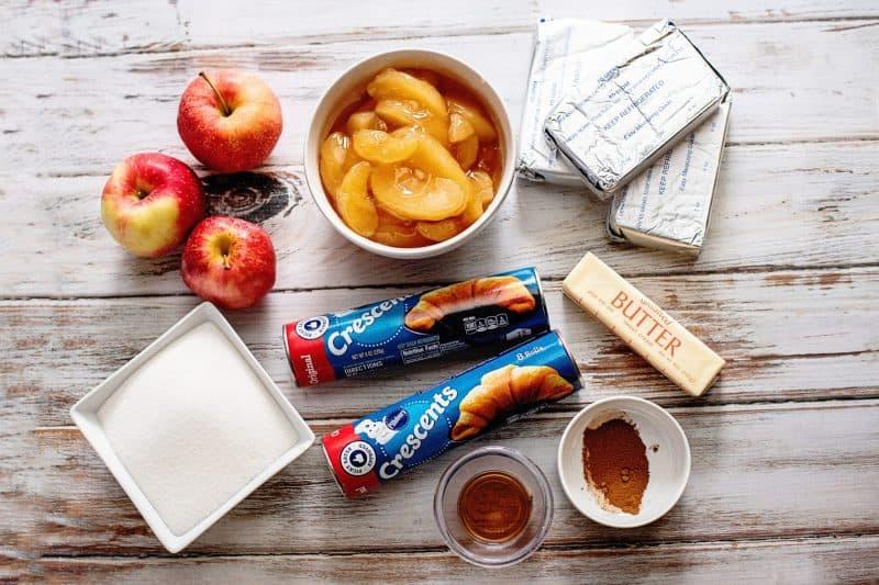 Apple cobbler ingredients