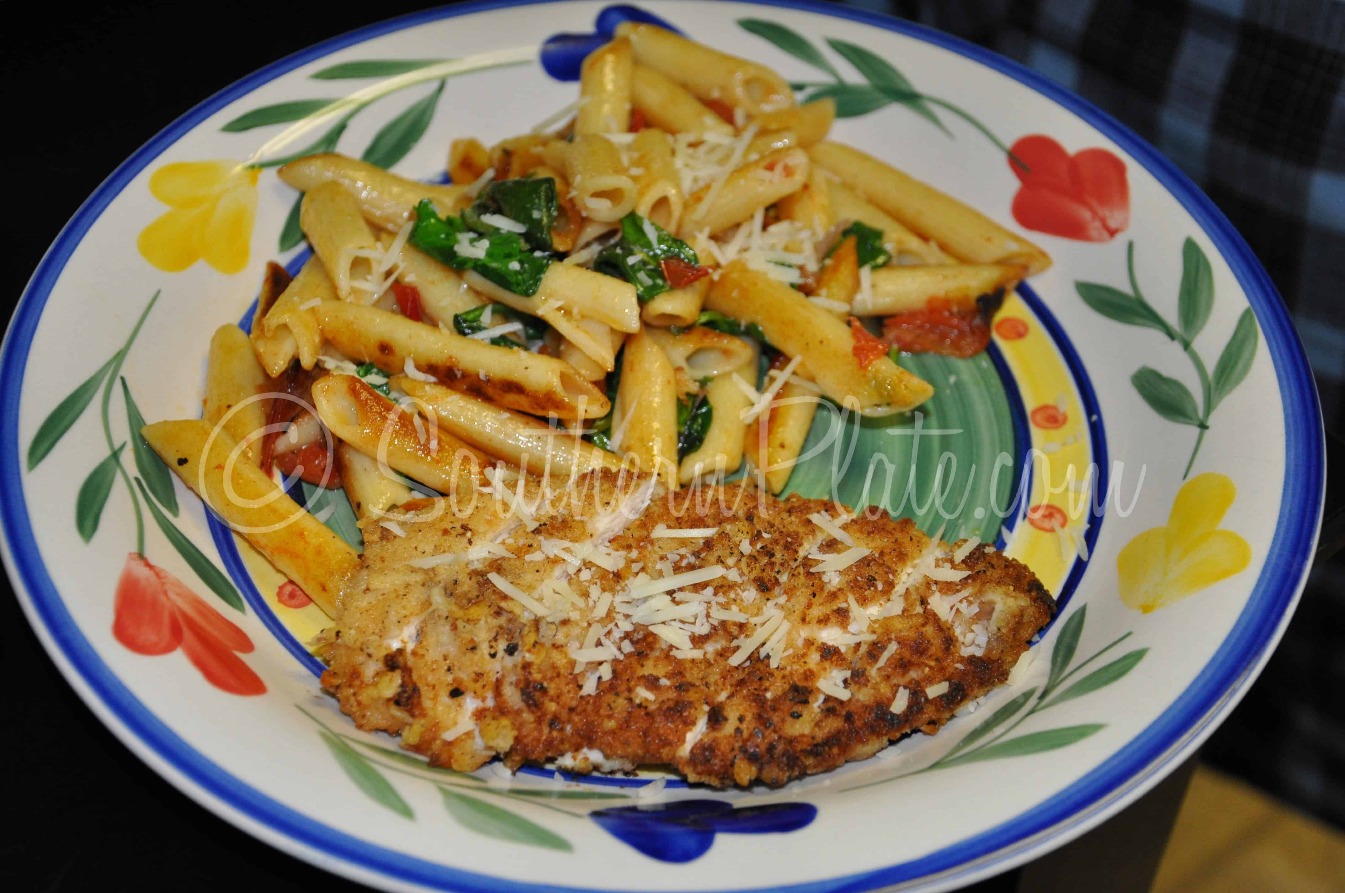Parmesan Encrusted Chicken