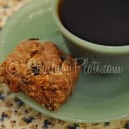 Oatmeal Raisin Scotchie Bars