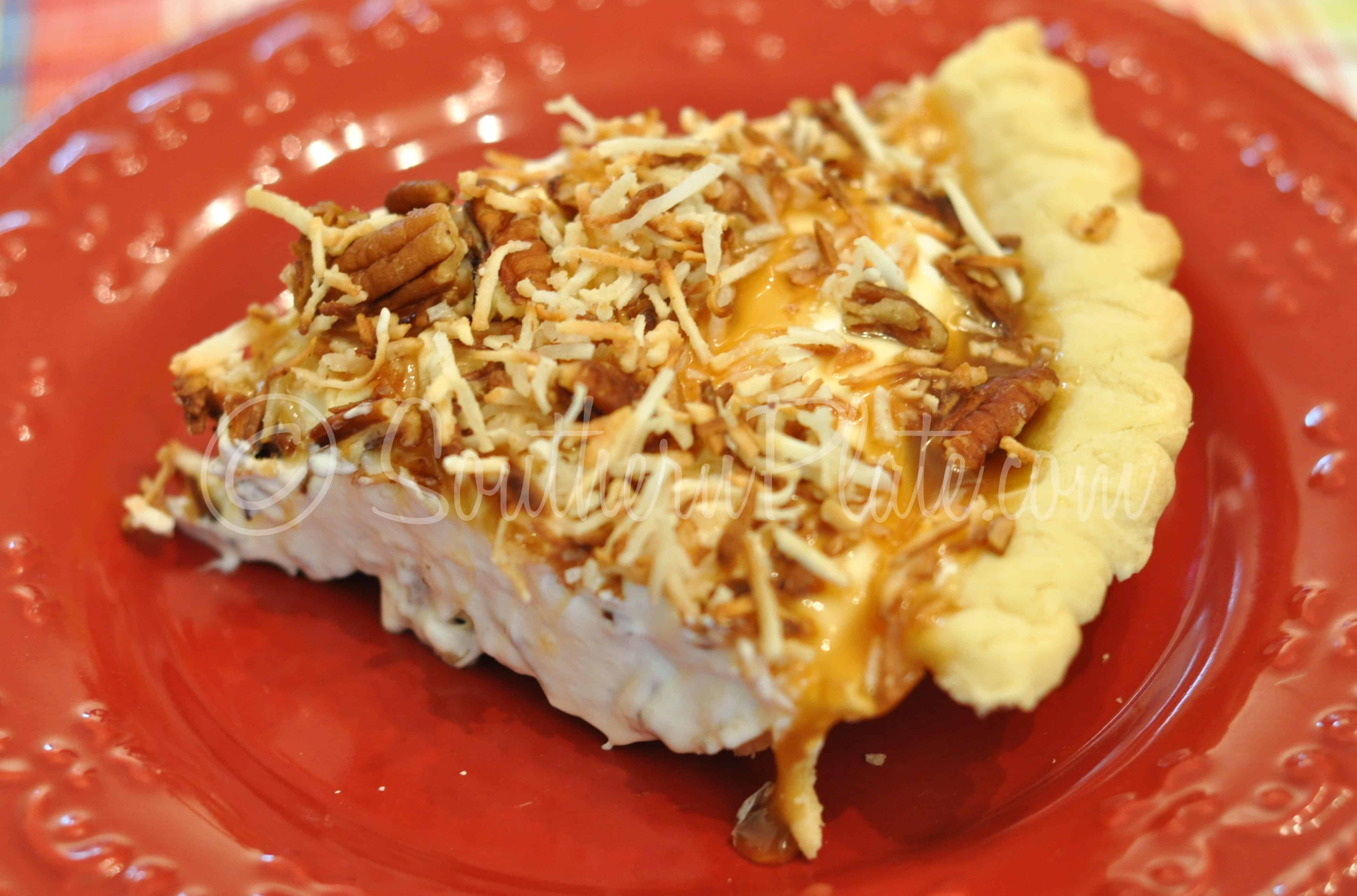 Ashley Mac's Coconut Caramel Pie