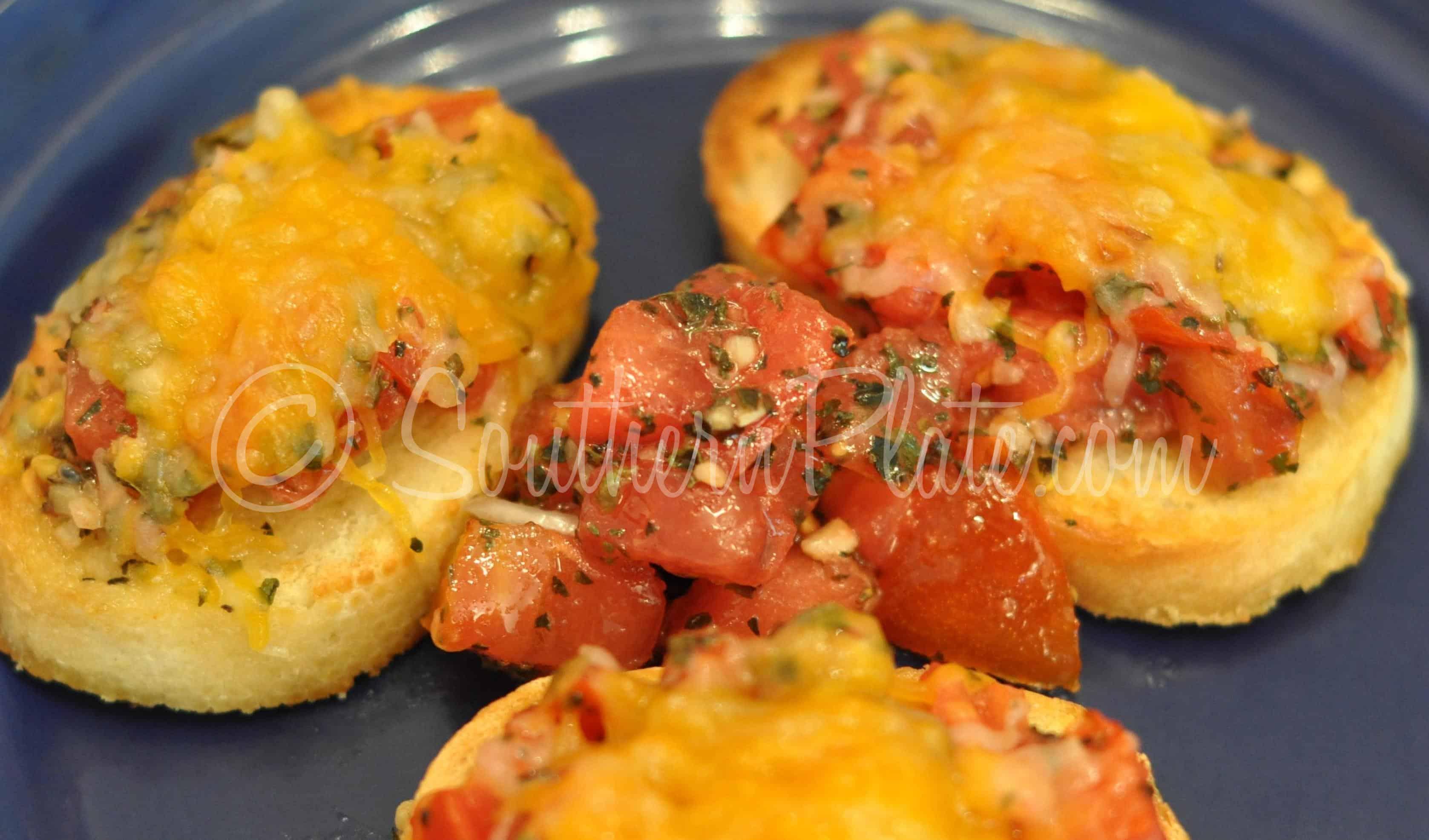 Bruschetta (Tomato Stuff On Bread)