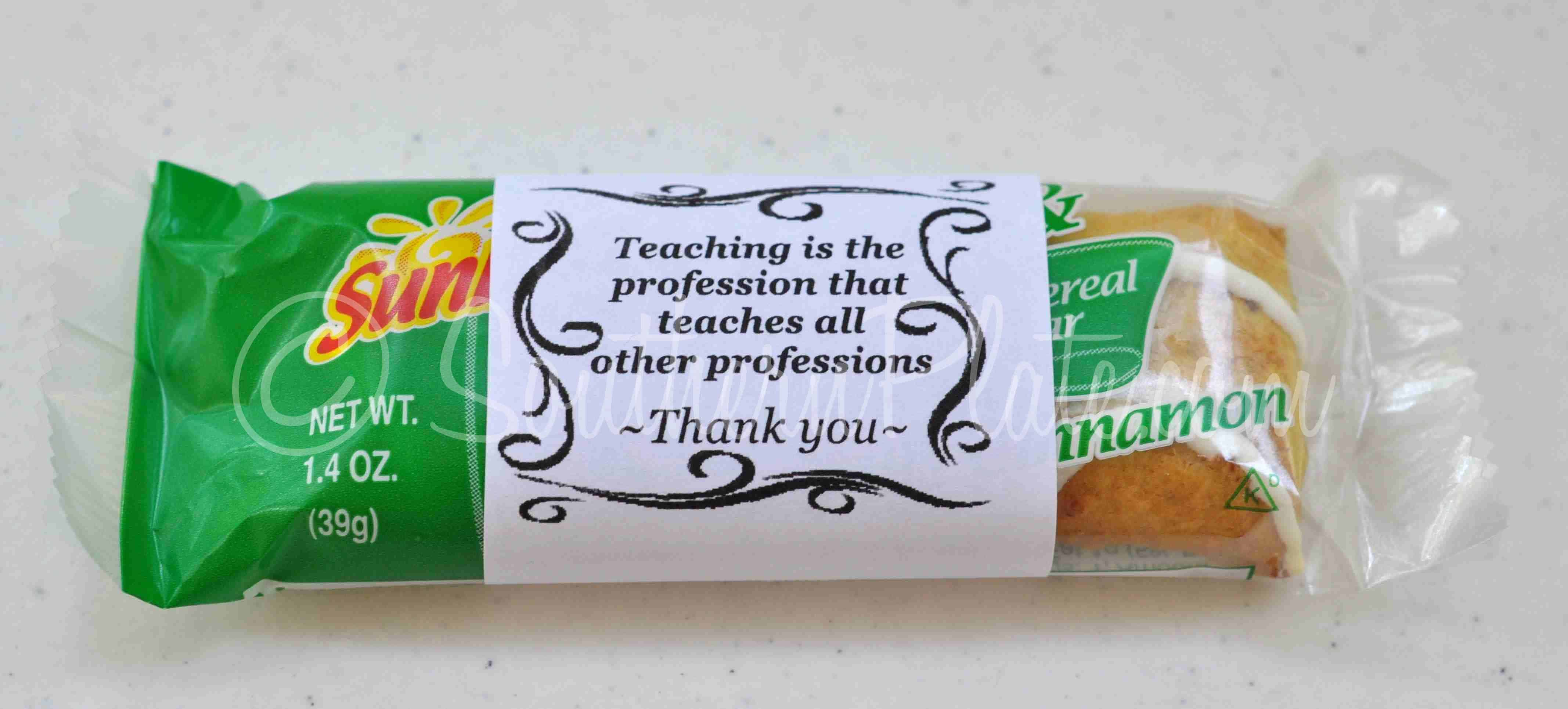 DIY Appreciation Gifts for School, Work, or Friends ...