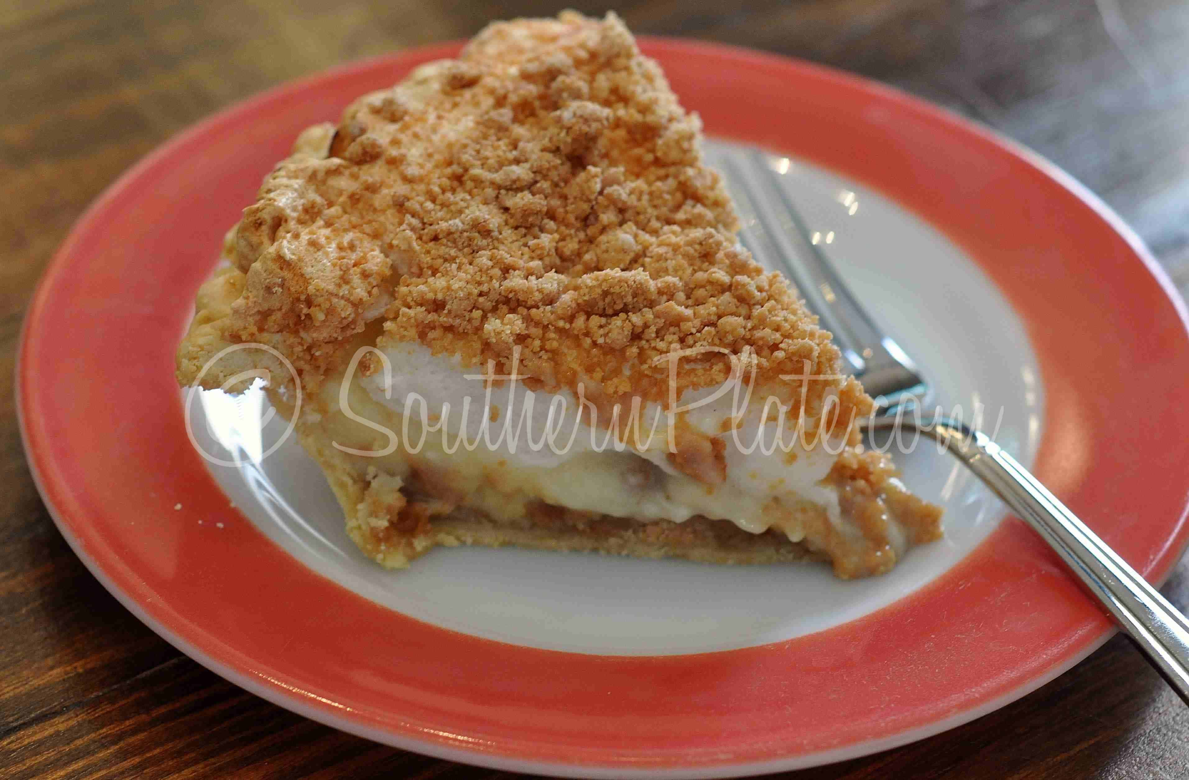 Old Fashioned Peanut Butter Pie | Southern Plate