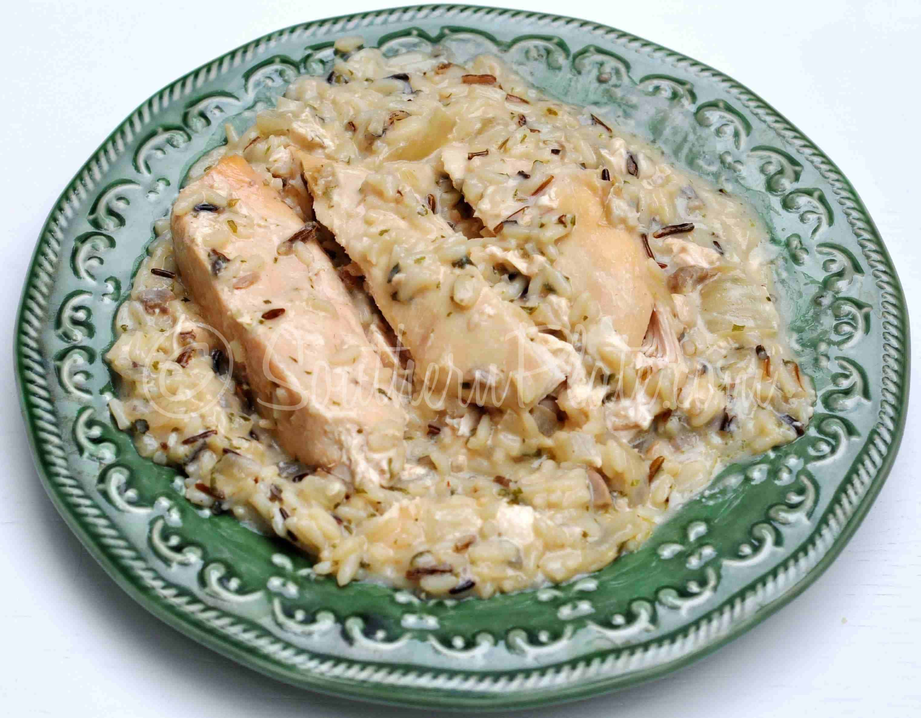 Slow Cooker Chicken And Wild Rice And Your Cheering