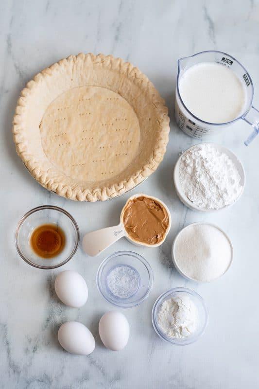 Peanut Butter Pie Ingredients