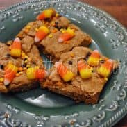 Festive Fall Cookie Bars (one bowl easy!)