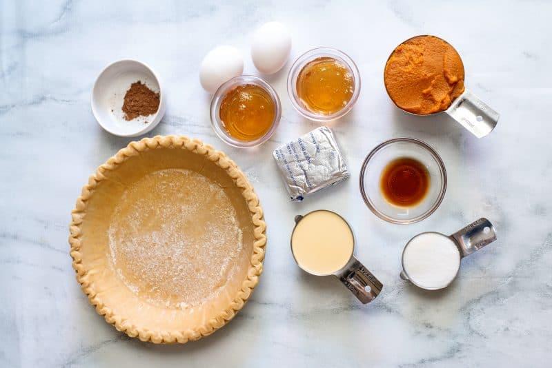 ingredients Pumpkin cream cheese Pie