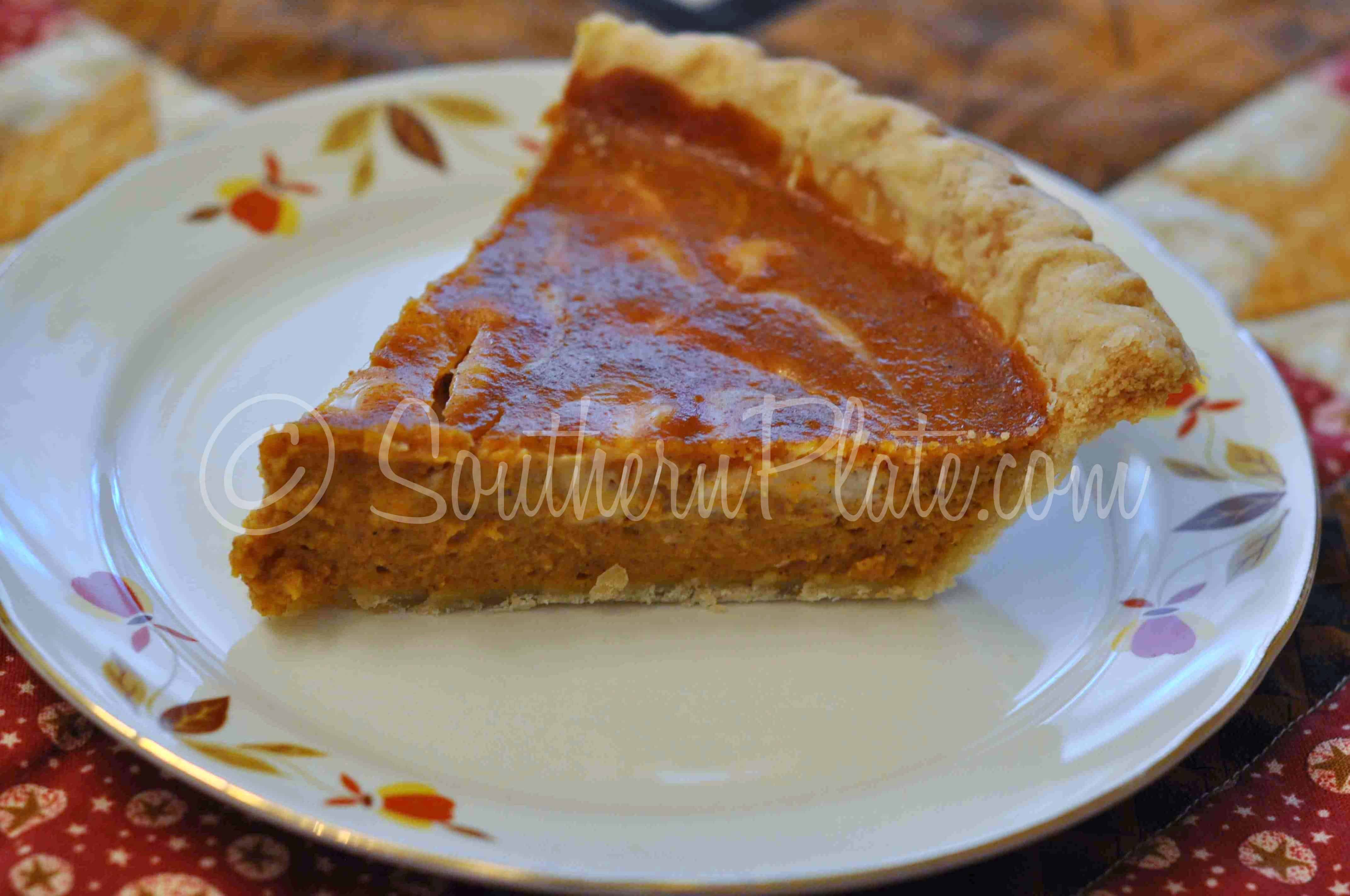 Honey Punkin Cream Cheese Pie