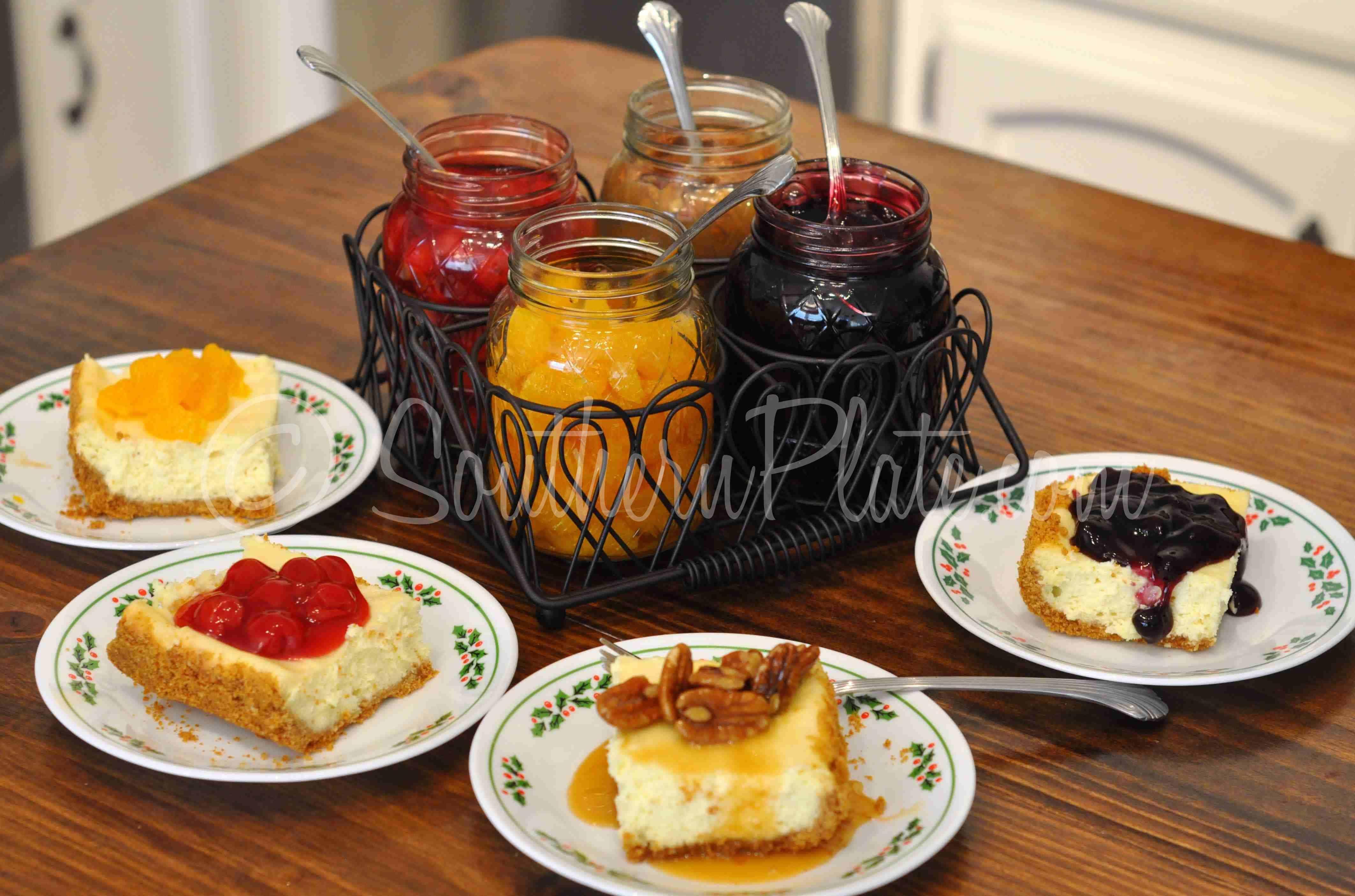 Cheesecake Bar Make Everyone Happy Southern Plate