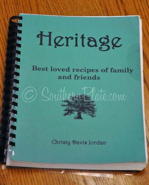 make a family cookbook plus giveaway southern plate