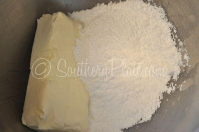 cream cheese, sugar and extract