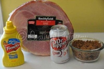 baked ham recipe with easy glaze ingredients