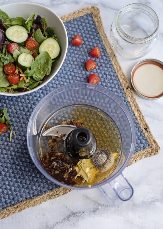 Mixing Up Vidalia Honey Vinaigrette
