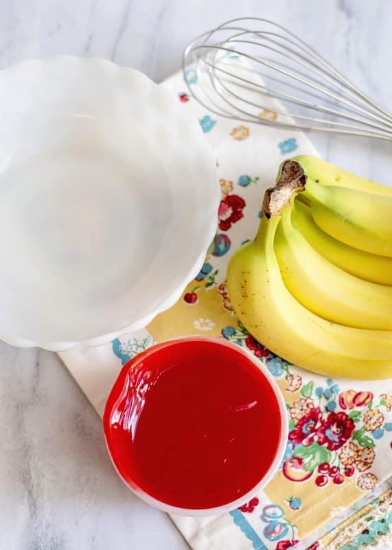 Bananas in Red Stuff Ingredients