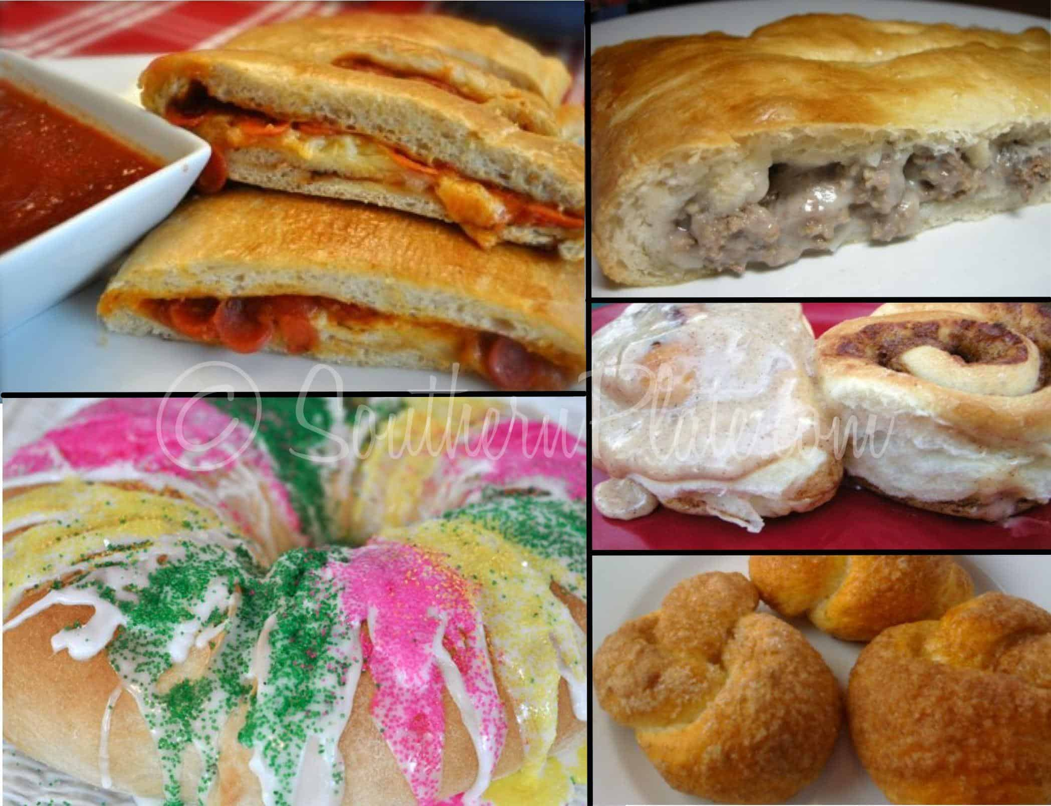 Fun meals and more with frozen bread dough!