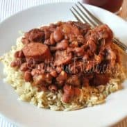 Red Beans and Rice (Contentment and Cranking yer tractor)