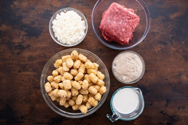 tater tot casserole ingredients