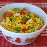 "Summer Corn Salad – and THANK YOU for being the ""real"" reality!"