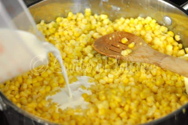 Easiest Ever Creamed Corn – Oh My Word Good! | Southern Plate