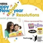 Back To School Resolutions *Nook E-Reader Giveaway*