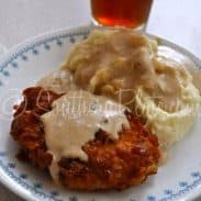 Crispy Breaded Pork Chops with Milk Gravy (and MeMe's Mashed Potatoes!)