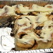 Harvest Stuffed Cinnamon Rolls