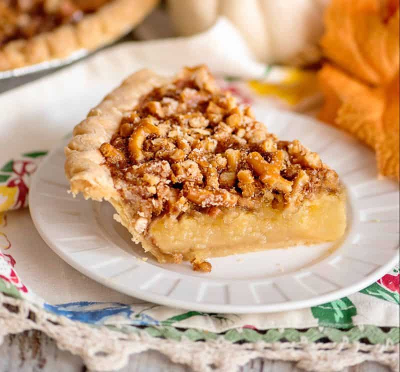 Faux Pecan Pie - Nut Free and Tasted Like The Real Thing!