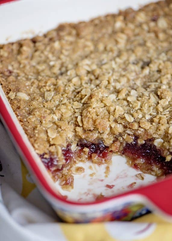Old Fashioned Cranberry Crunch