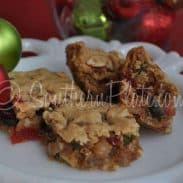 Fruitcake Bar Cookies