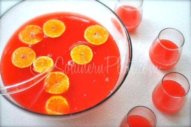 Simple Party Punch Can Be Made Sugar Free Southern Plate