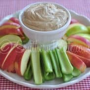 Creamy Peanut Butter Fruit Dip – & The peppermint lifesaver that has made me smile for over 30 years :)