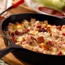 Monte Cristo Cornbread Skillet Supper
