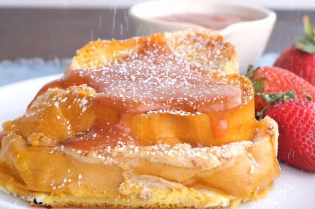 Oven Baked Stuffed French Toast
