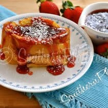 stuffed french toast southern plate