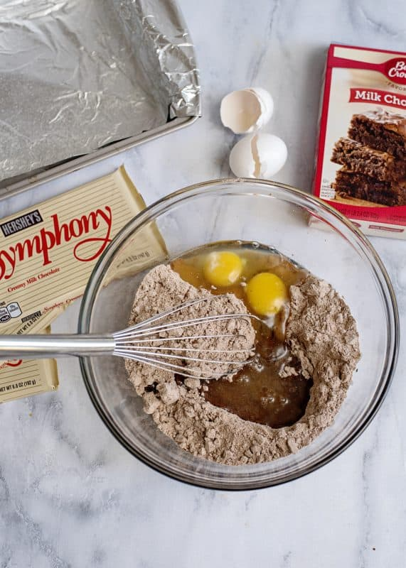 Mixing Up Symphony Brownies - and Teaching Joy