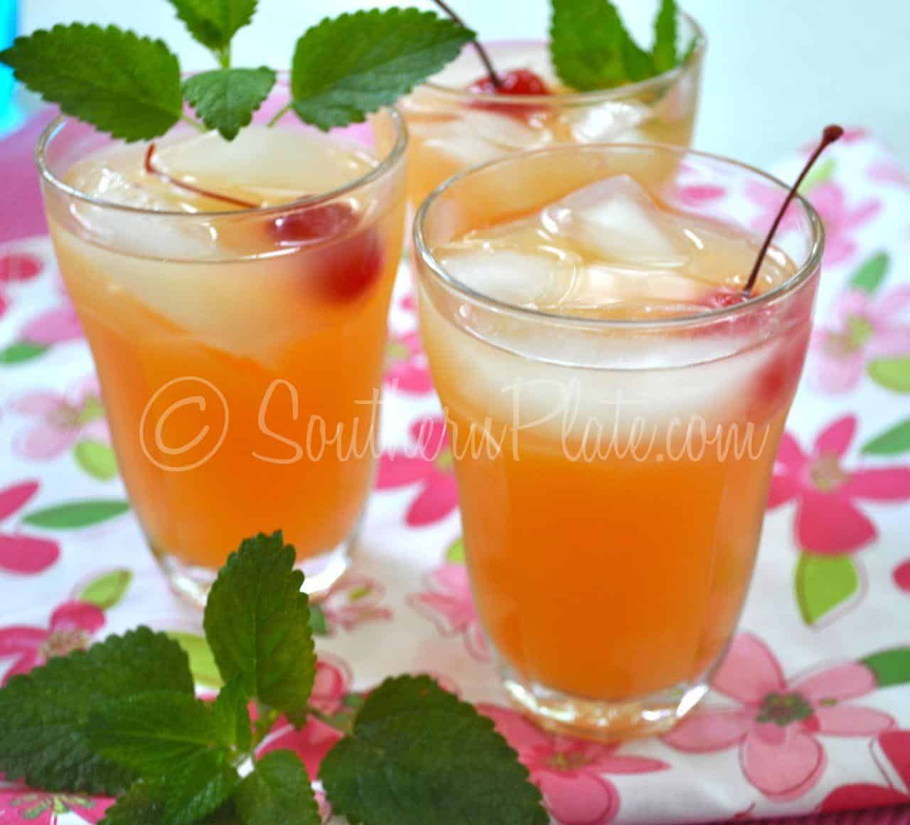 Blushing Apple Juleps