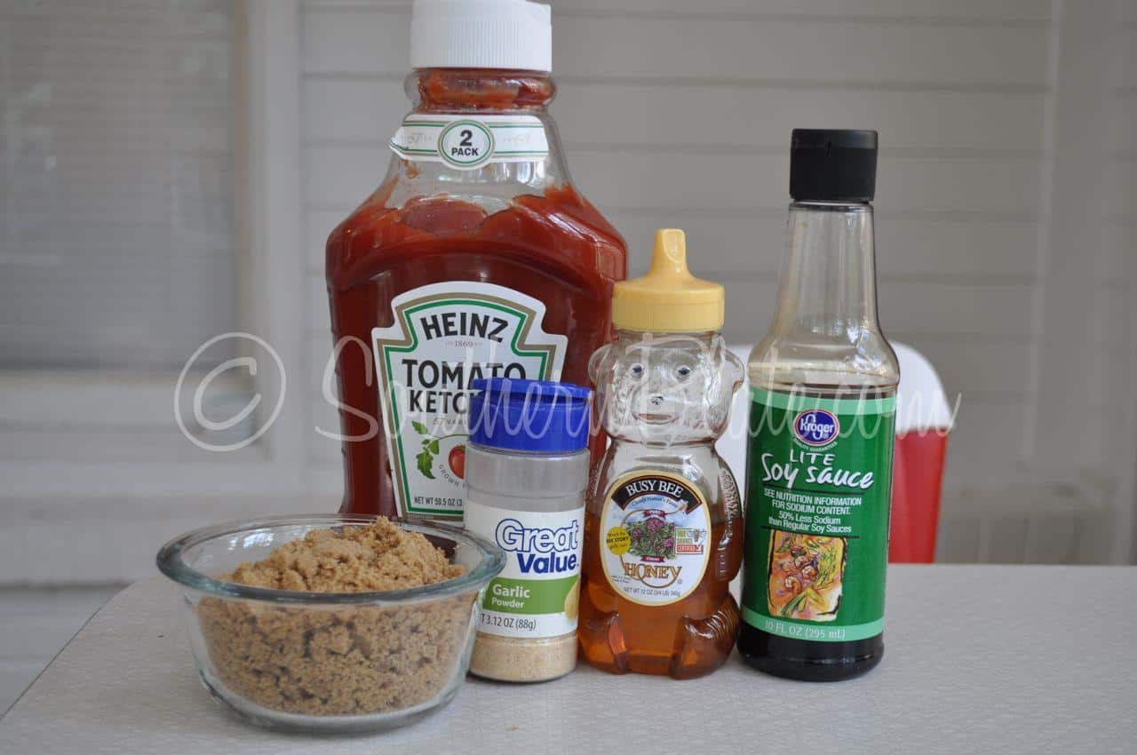 You Ll Need Brown Sugar Dark Or Light Whatever You Have Garlic Powder Ketchup Honey And Soy Sauce