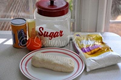 Easy Orange Rolls Ingredients