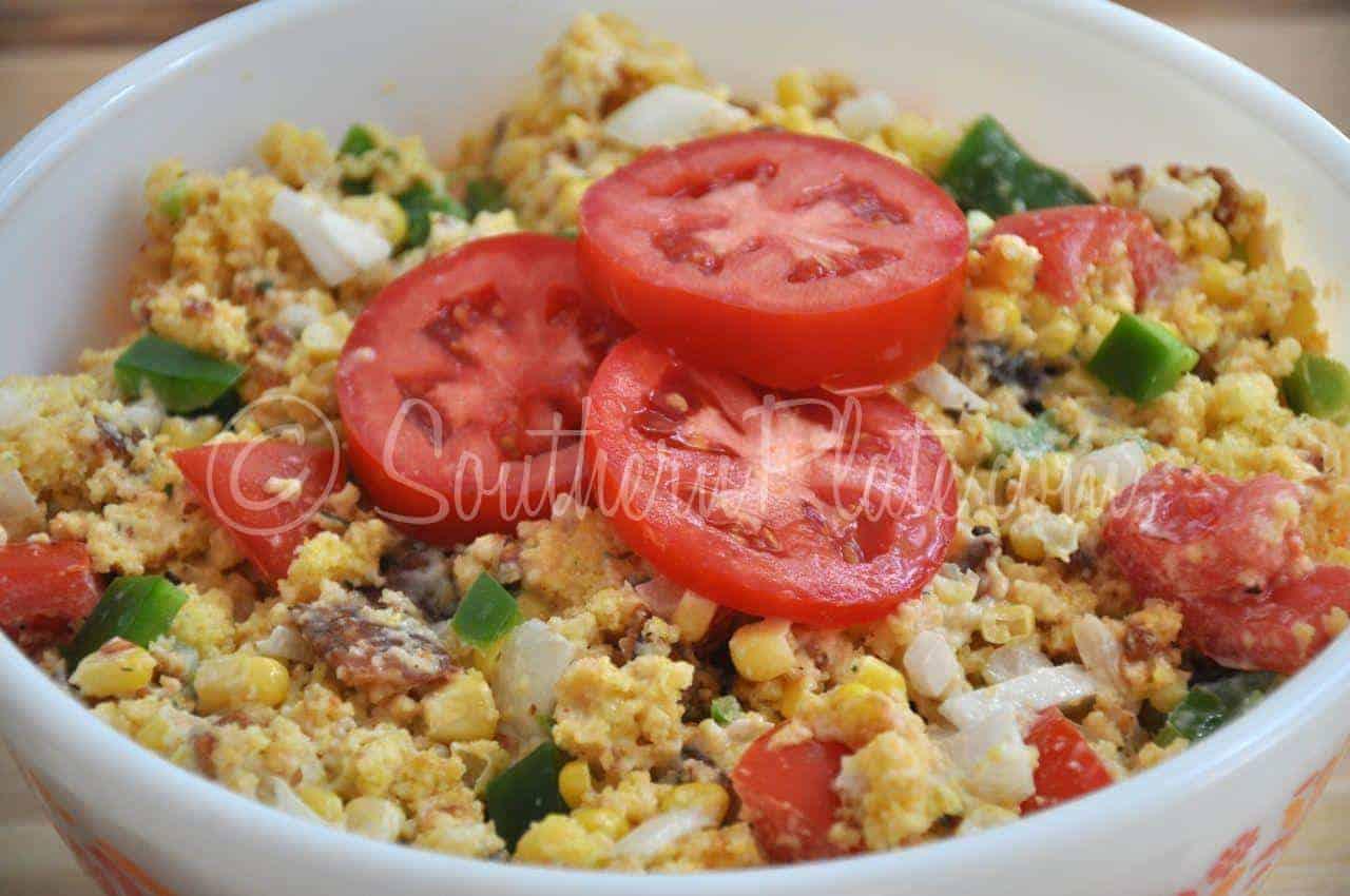 Cornbread Salad   Southern Plate