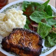 Garlic Mozzarella Mashed Potatoes