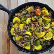 Southern Plate Garden Skillet
