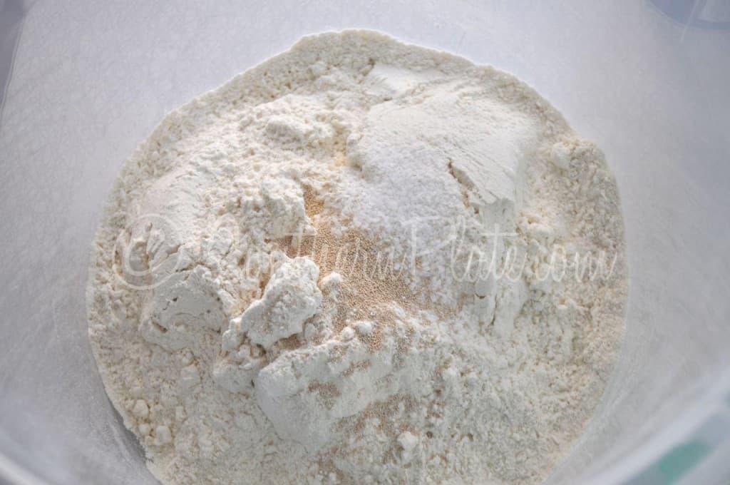 Easy Dutch Oven Bread Dry Ingredients