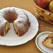 Apple Pound Cake – and Being the Person You Need :)