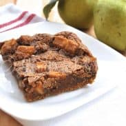 Chewy Pear Bars – And Why I'm Thankful to God and Grandaddy :)